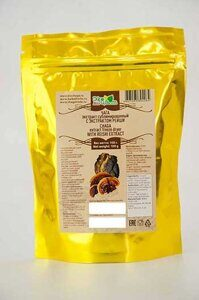 Chaga powder extract with reishi bag 100g